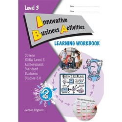 ESA Innovative Business Activities 3.6 Learning Workbook Level 3 9780908340460