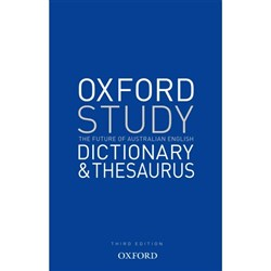 Oxford Study Dictionary & Thesaurus 9780195565768