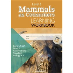 ESA Mammals as Consumers 1.5 Learning Workbook Level 1 9780908340439