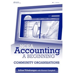 NCEA Accounting A Beginning Community Organisations Year 11 9780170218306