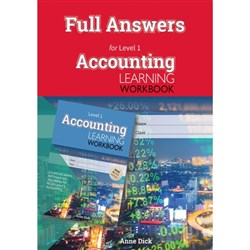 ESA Accounting Learning Workbook L1 Answers Booklet 9780947504793