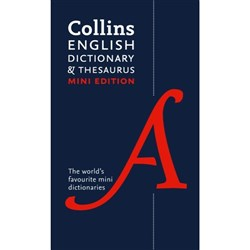 Collins Mini Dictionary & Thesaurus 9780007531950