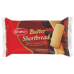 Griffin's Butter Shortbread Biscuits 200g