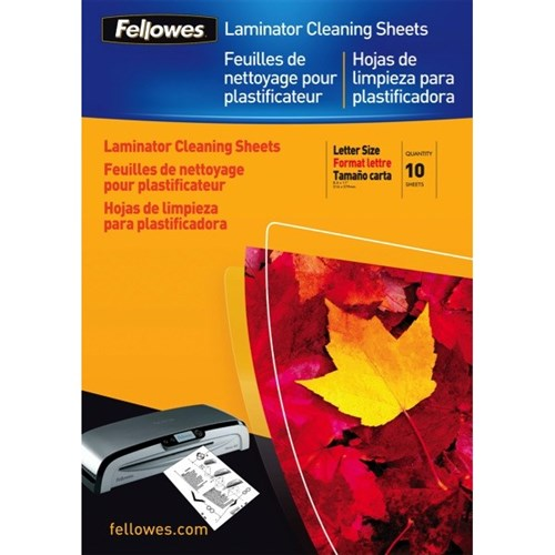 Fellowes A4 Laminator Cleaning Sheets, Pack of 10
